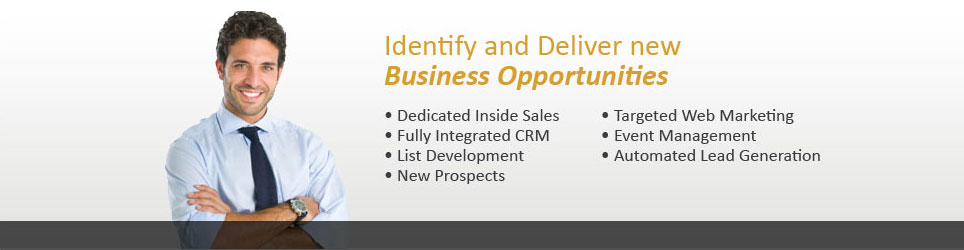 Identify and Deliver New Business Opportunities