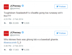 JC Penny Tweet